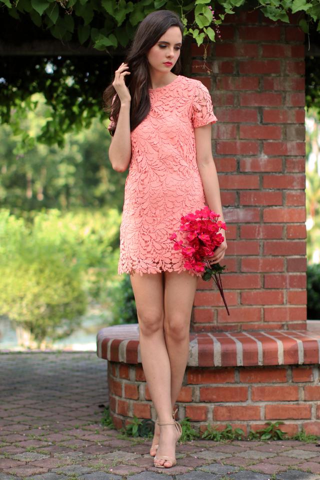 *RESTOCK* TSW Poet Crochet Dress in Peach