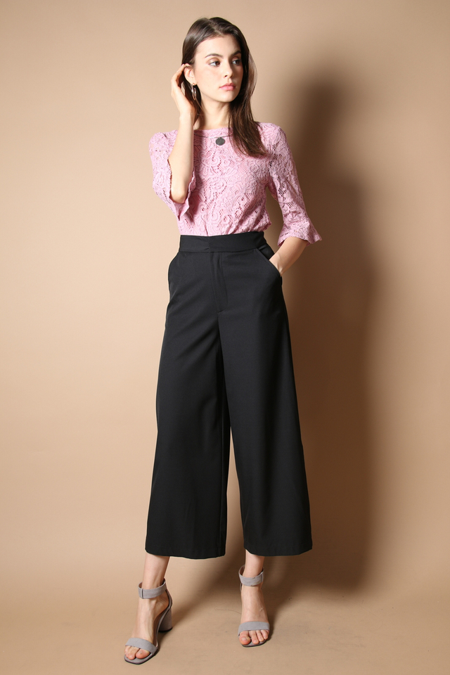Amedia Culottes Pants in Black