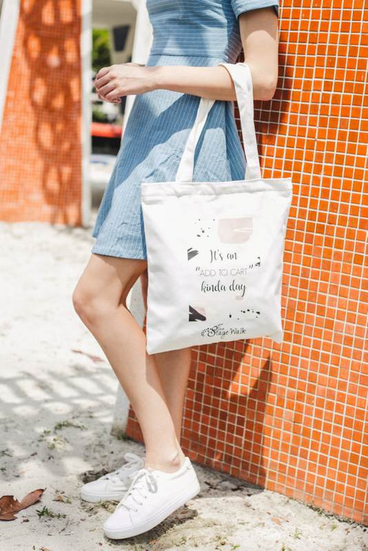 """""""It's an add to cart kinda day"""" Tote Bag"""