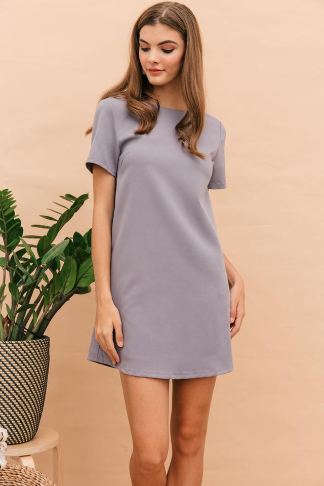 Zen Basic Shift Dress in Lavender