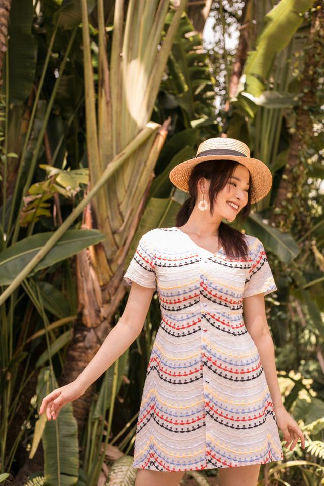 Sanna Eyelet Skater Dress (XS)