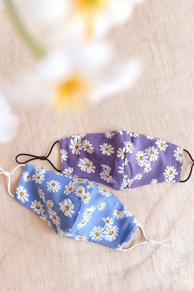 TSW Sweet Daisy Mask in Purple