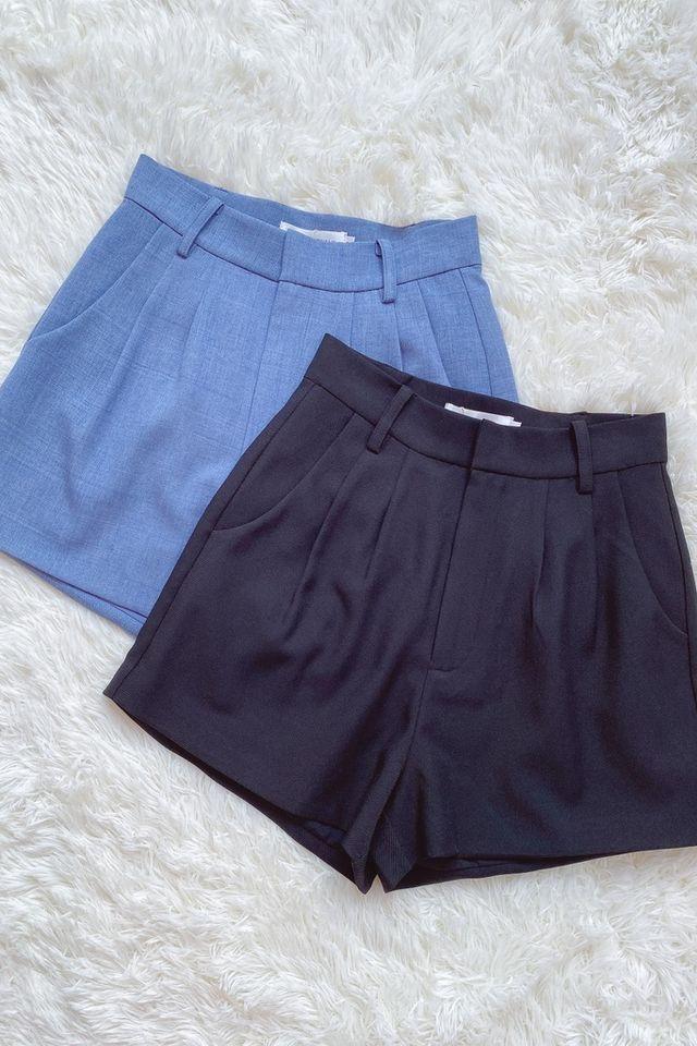Charlotte Pocket Shorts in Black